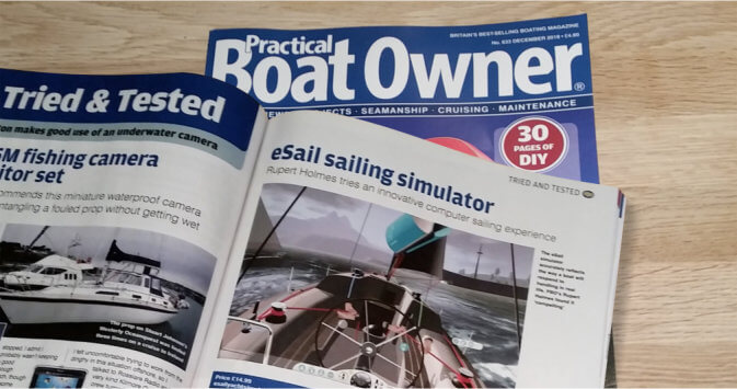 Practical Boat Owner eSail Sailing Simulator review