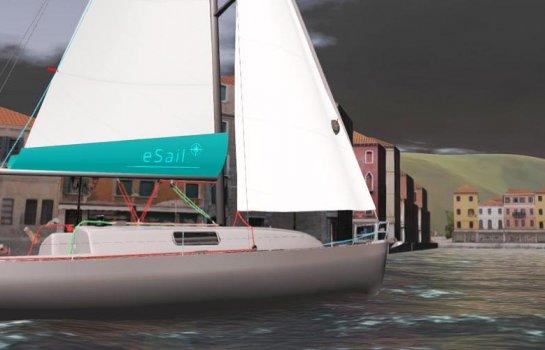 Sailing through Venice