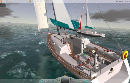eSail the sailing simulator race