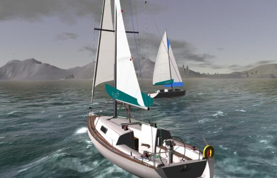 eSail multiplayer races