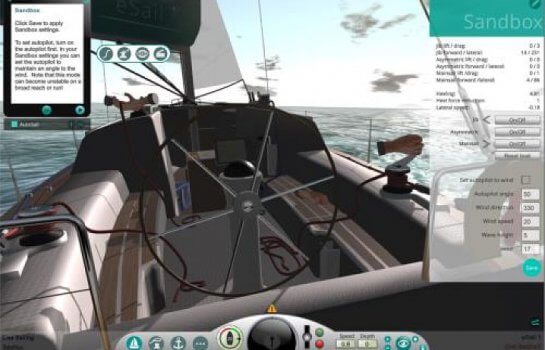 Sandbox - trim your sails